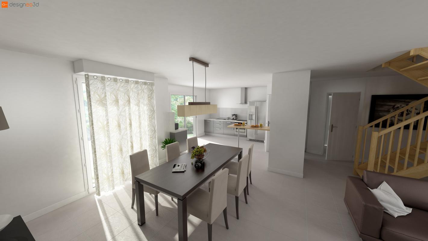 Maisons + Terrains du constructeur Maisons Le Masson LORIENT • 78 m² • PORT LOUIS
