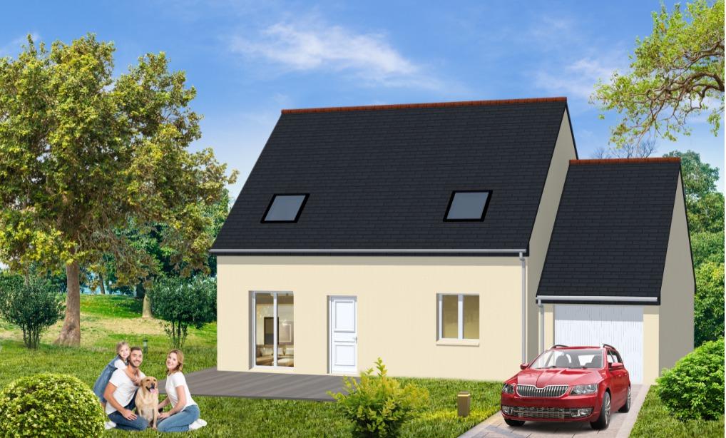 Maisons + Terrains du constructeur Maisons Le Masson LORIENT • 78 m² • PLOEMEL