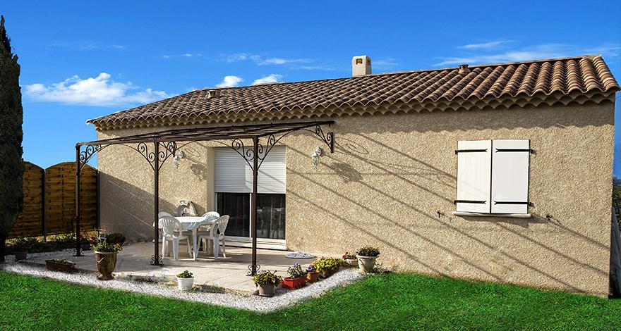 Maisons + Terrains du constructeur VILLADIRECT LE PONTET • 80 m² • RASTEAU
