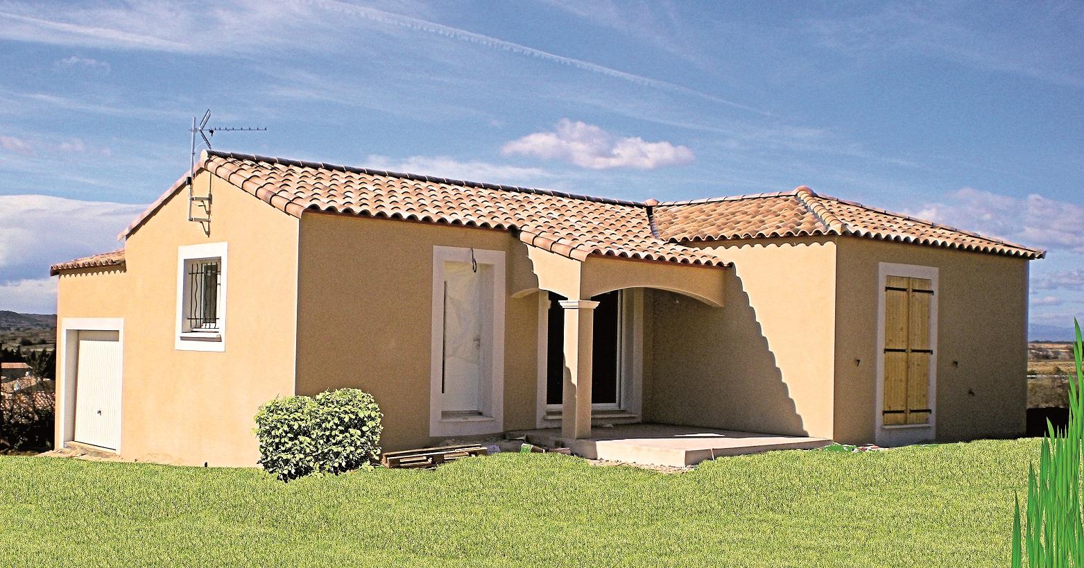 Maisons + Terrains du constructeur VILLADIRECT LE PONTET • 98 m² • VAISON LA ROMAINE