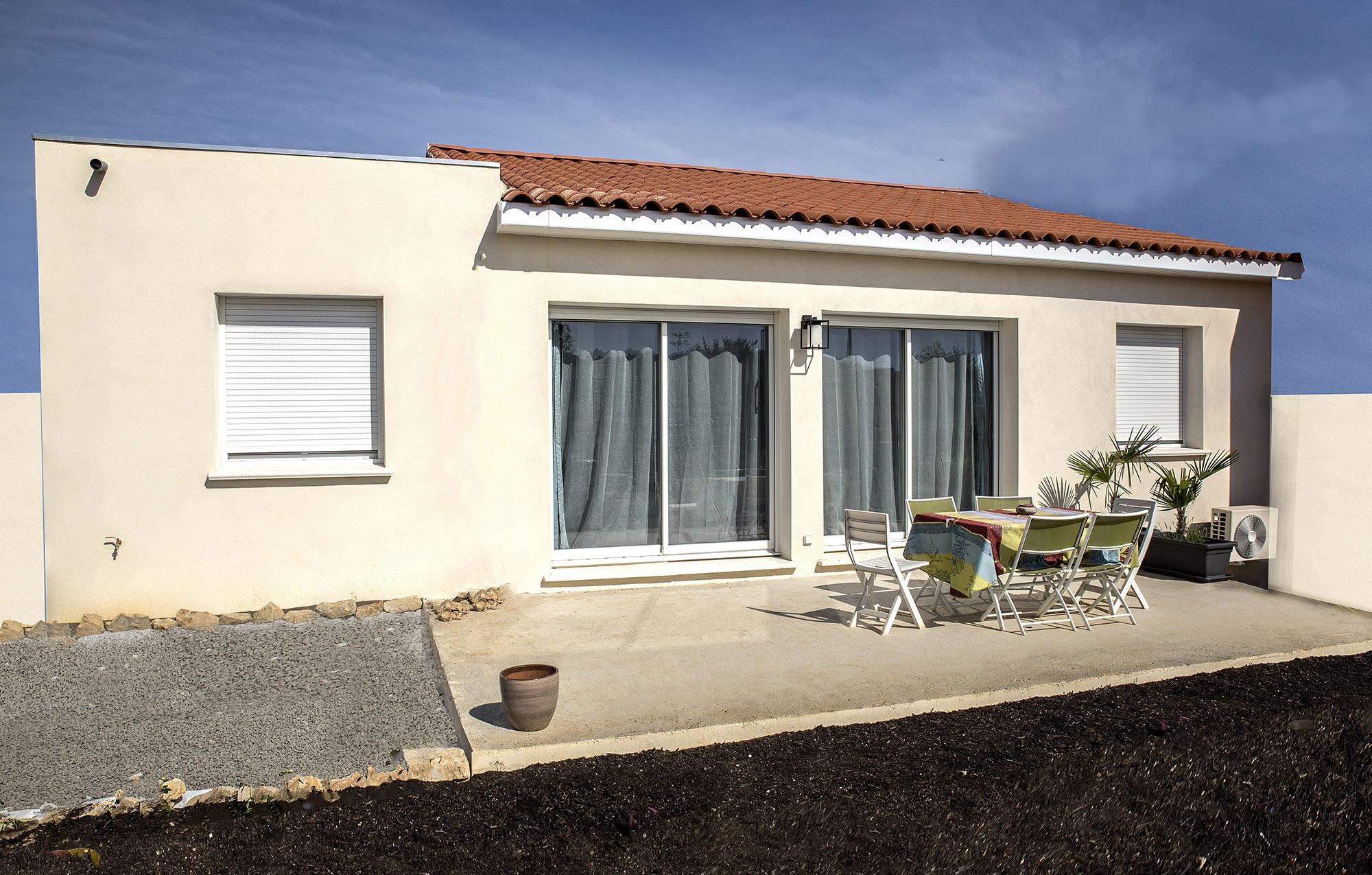 Maisons + Terrains du constructeur VILLADIRECT LE PONTET • 90 m² • BOLLENE
