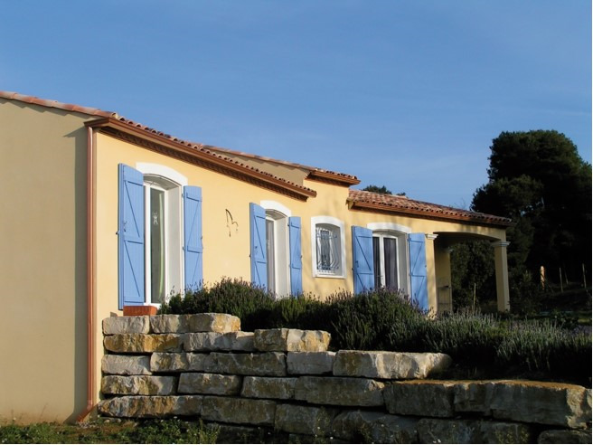 Maisons + Terrains du constructeur VILLADIRECT LE PONTET • 90 m² • BONNIEUX
