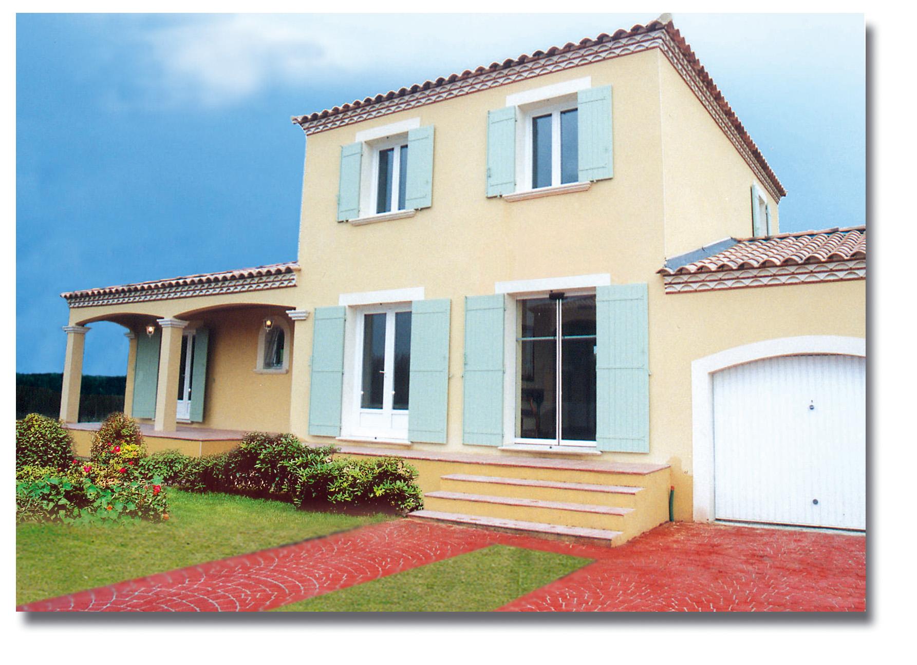 Maisons + Terrains du constructeur VILLADIRECT LE PONTET • 80 m² • LA MOTTE D'AIGUES