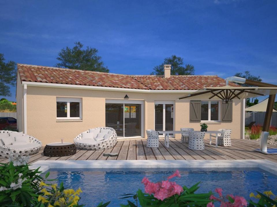 Maisons + Terrains du constructeur MAISONS FRANCE CONFORT • 85 m² • SAINT JORY
