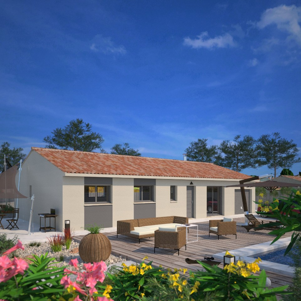 Maisons + Terrains du constructeur MAISONS FRANCE CONFORT • 84 m² • AUCAMVILLE