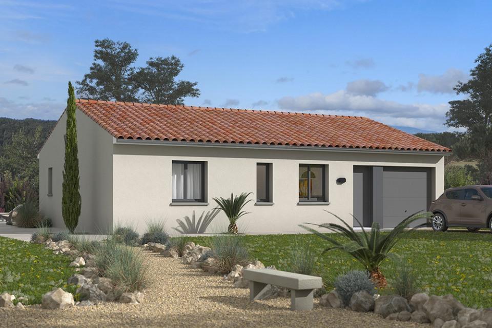 Maisons + Terrains du constructeur MAISONS FRANCE CONFORT • 75 m² • ROQUESERIERE