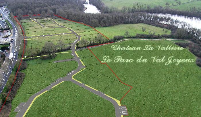 Terrains du constructeur NEGOCIM • 664 m² • CHATEAU LA VALLIERE