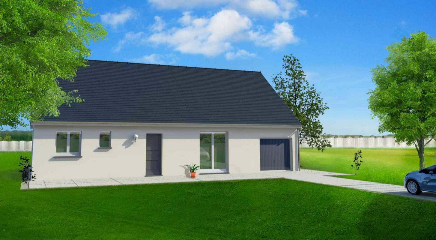 Maisons du constructeur MAISONS LE MASSON • 84 m² • LE GRAND LUCE
