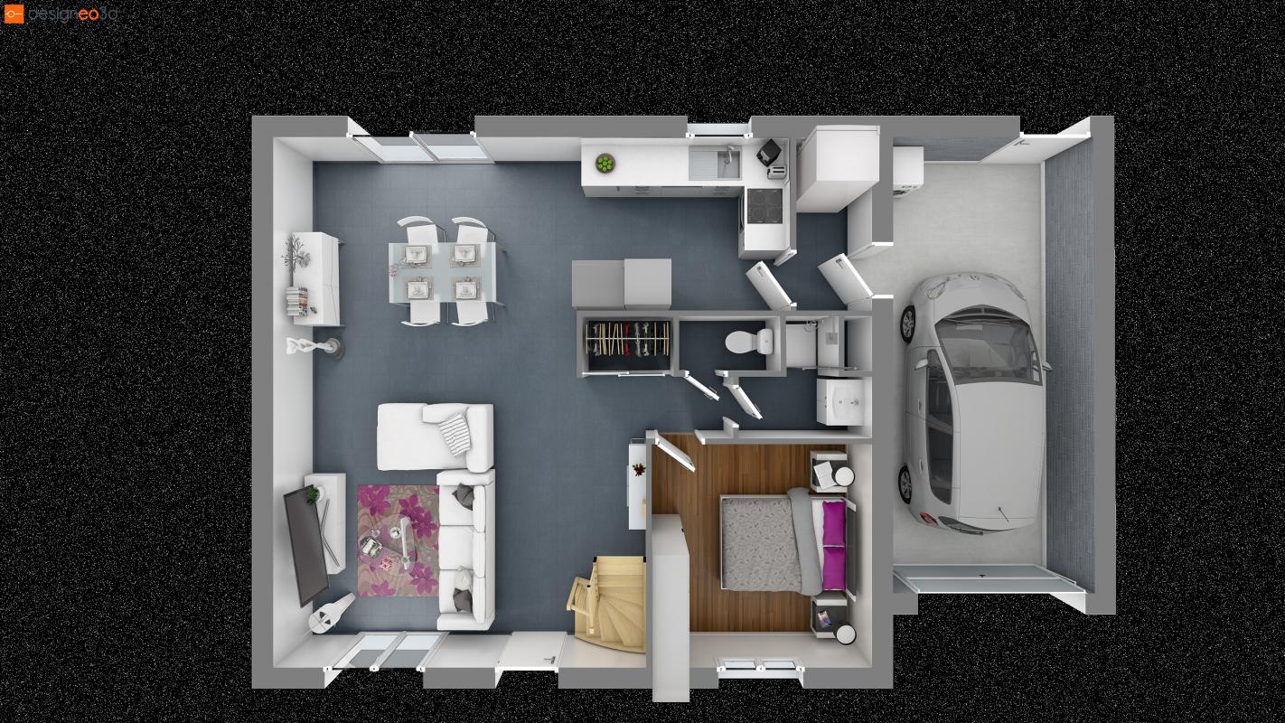 Maisons du constructeur MAISONS LE MASSON • 100 m² • LOMBRON