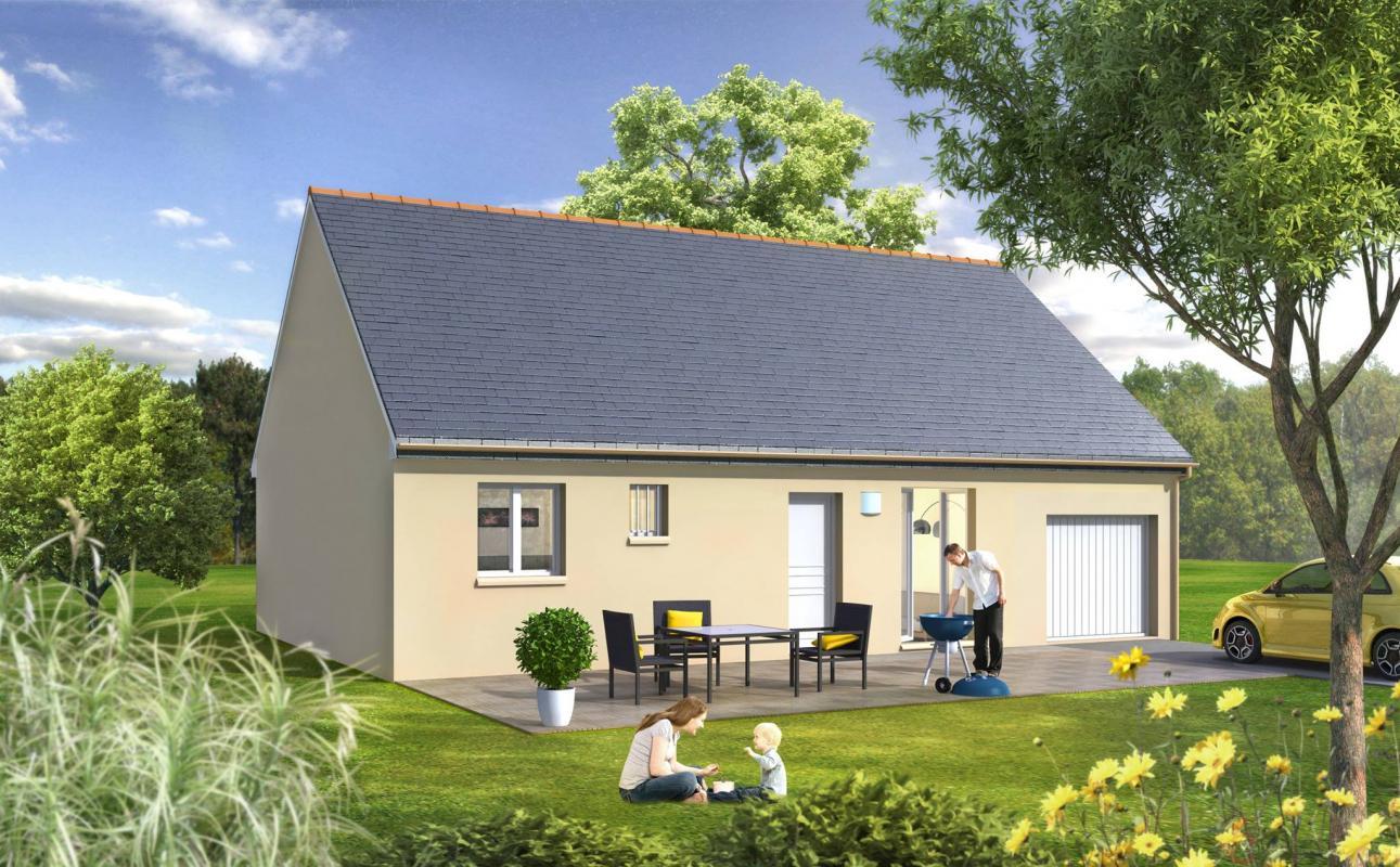 Maisons du constructeur MAISONS LE MASSON • 84 m² • LOMBRON
