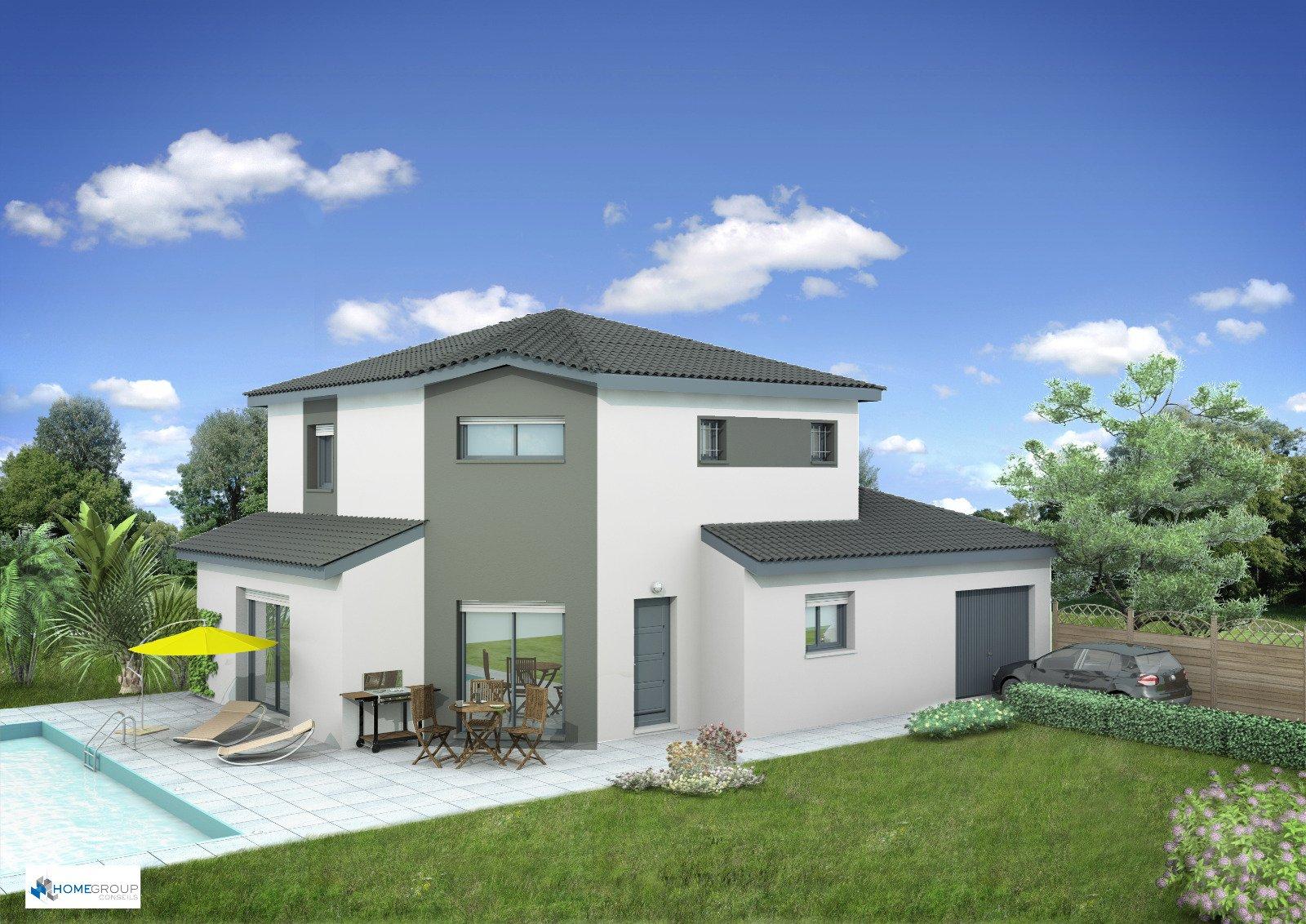 Maisons du constructeur HOME GROUP CONSEILS • 90 m² • MOIRANS