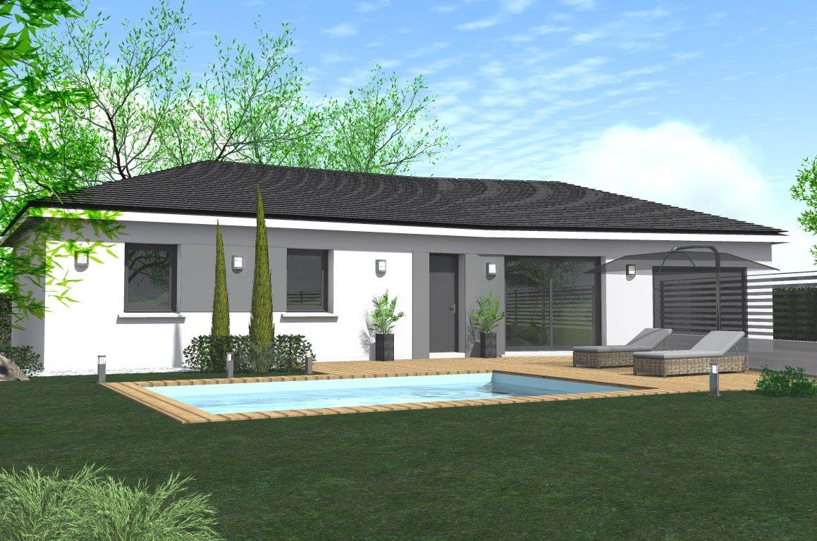 Maisons du constructeur HOME GROUP CONSEILS • 75 m² • BREZINS