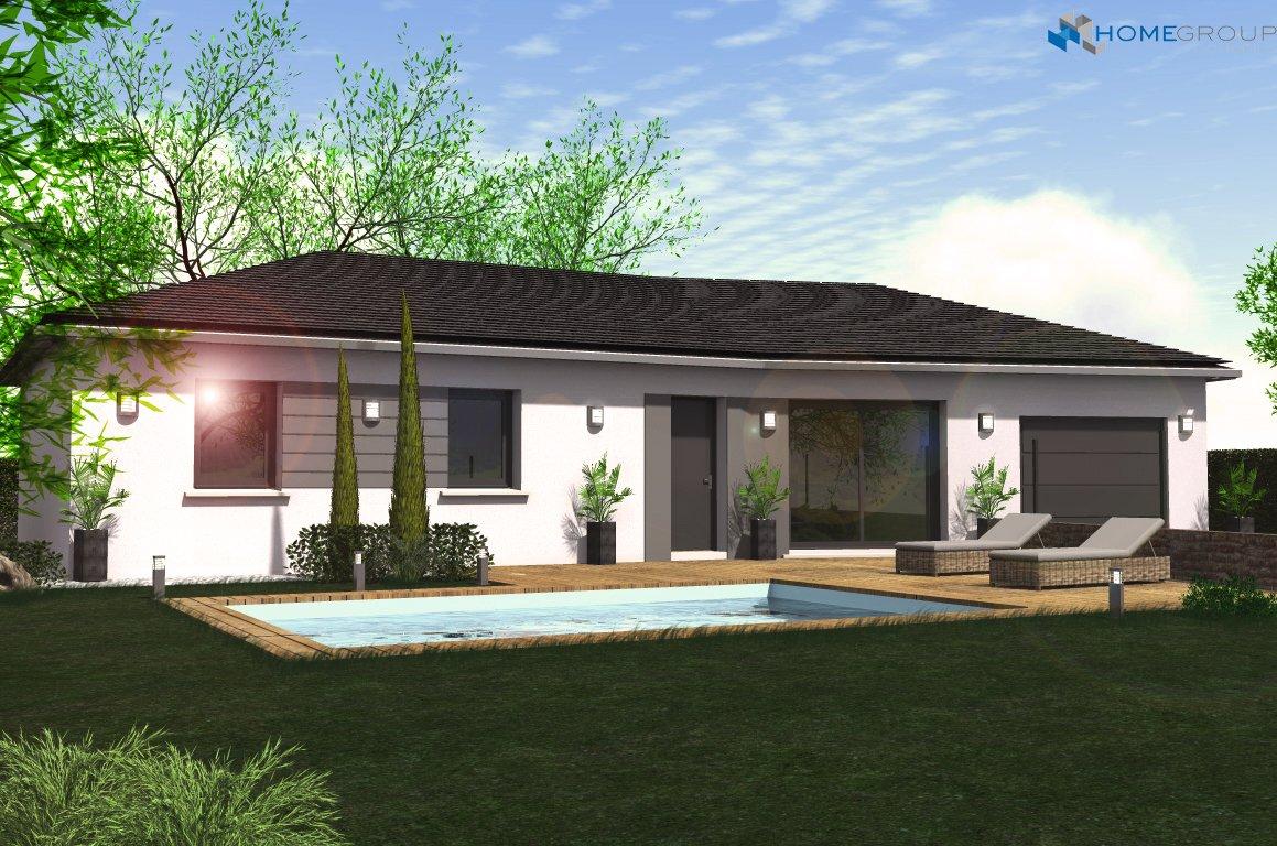 Maisons du constructeur HOME GROUP CONSEILS • 95 m² • BREZINS