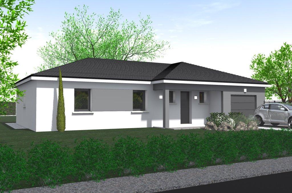Maisons du constructeur HOME GROUP CONSEILS • 90 m² • CHARAVINES