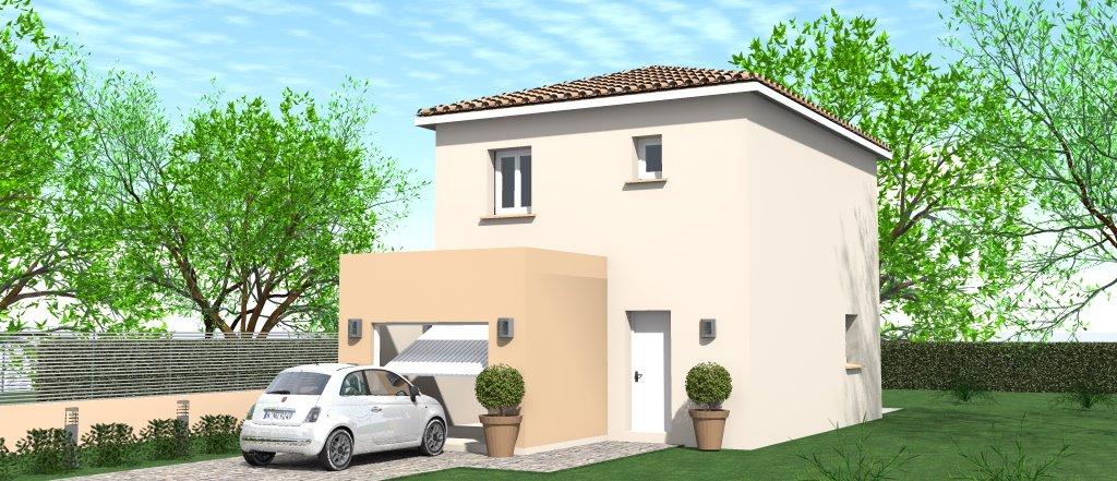 Maisons du constructeur HOME GROUP CONSEILS • 90 m² • SAINT MAURICE L'EXIL