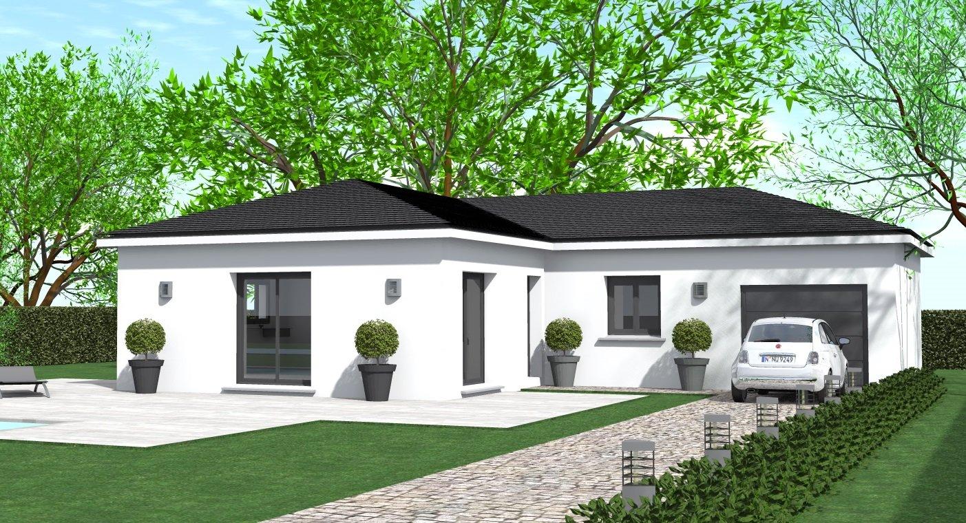 Maisons du constructeur HOME GROUP CONSEILS • 90 m² • ROUSSILLON