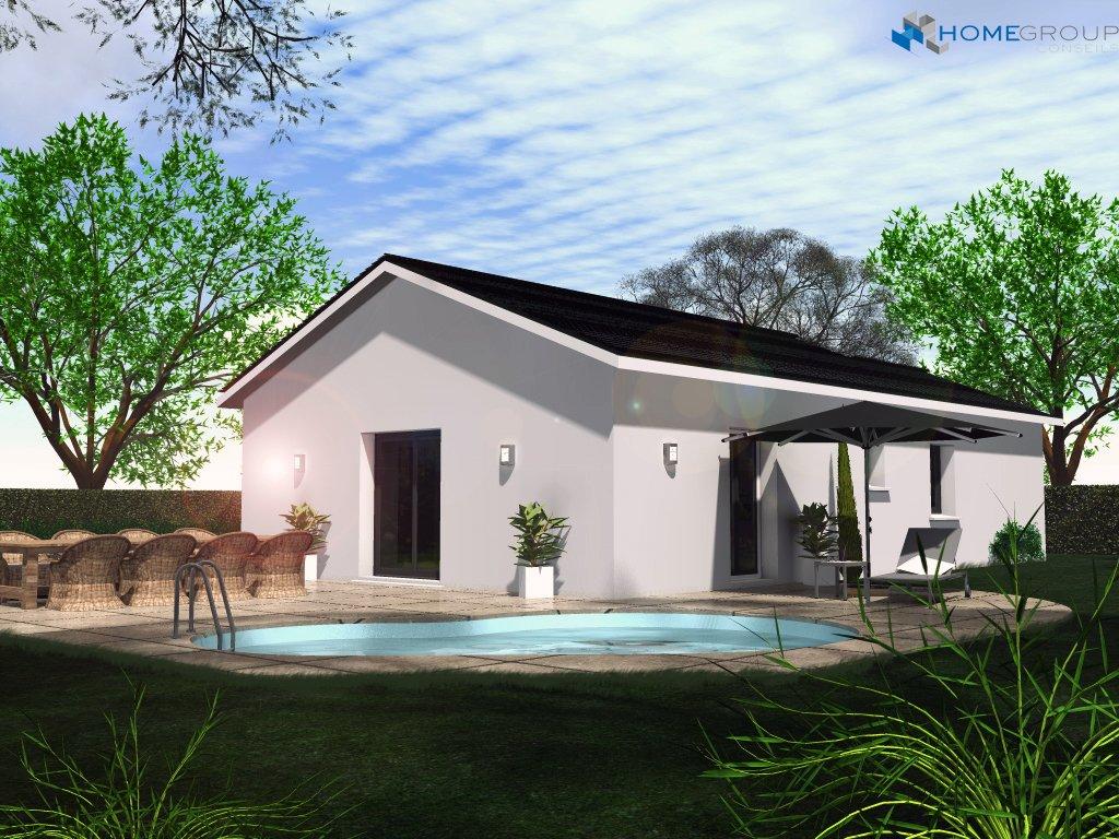 Maisons du constructeur HOME GROUP CONSEILS • 100 m² • REVENTIN VAUGRIS
