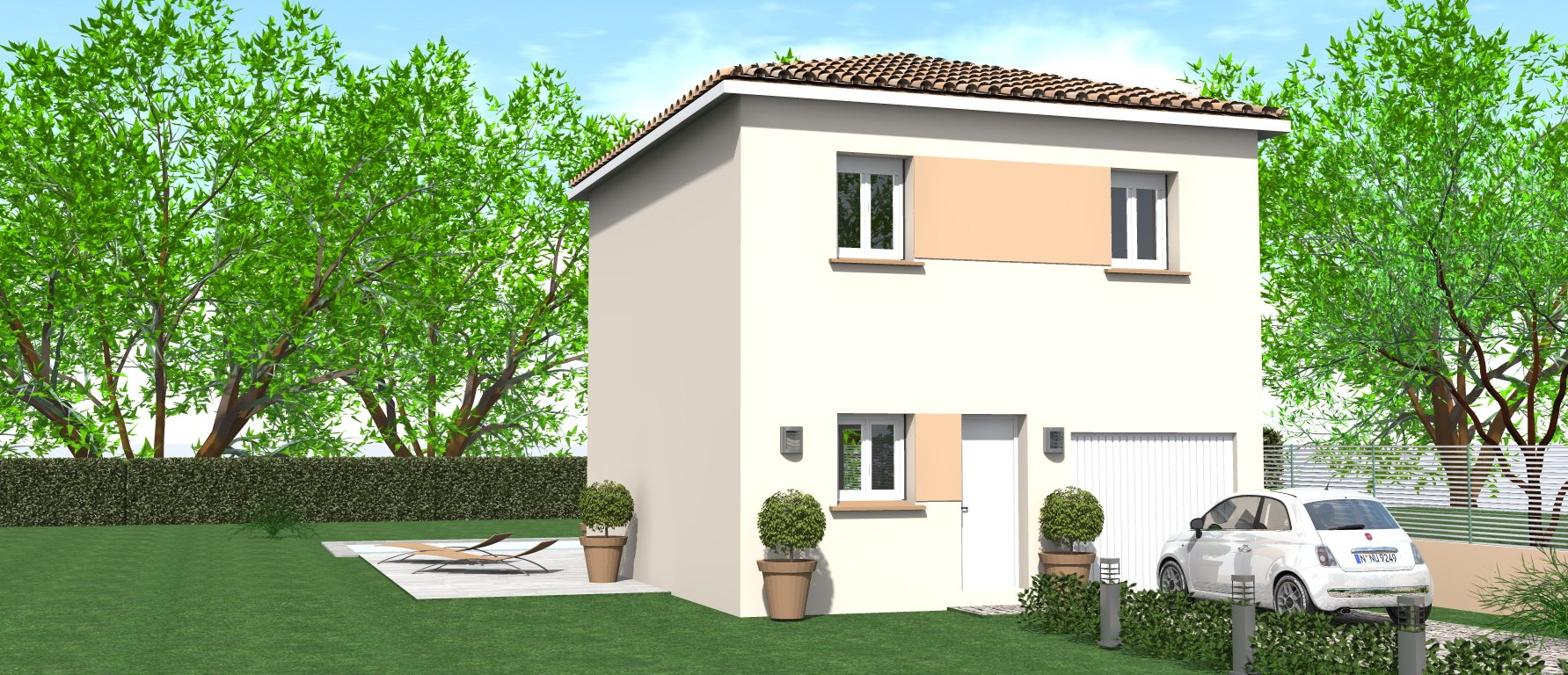 Maisons du constructeur HOME GROUP CONSEILS • 80 m² • VIENNE