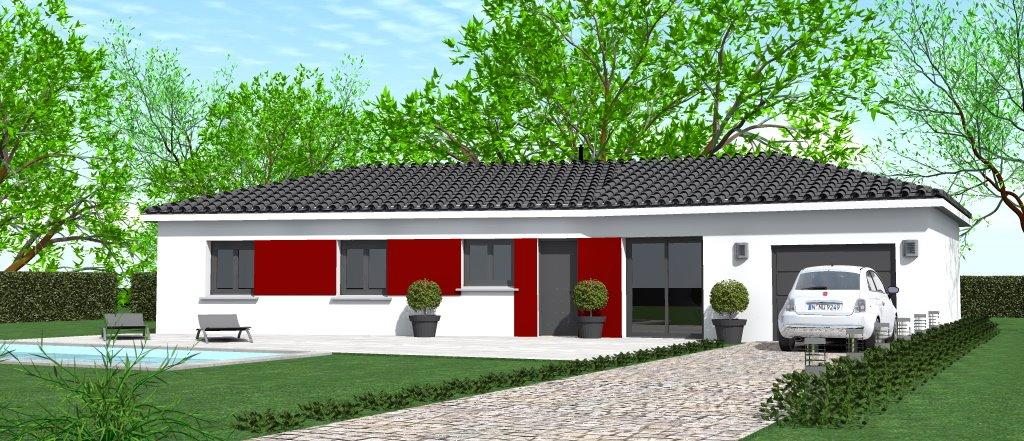Maisons du constructeur HOME GROUP CONSEILS • 90 m² • AGNIN