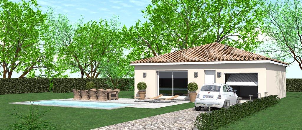Maisons du constructeur HOME GROUP CONSEILS • 80 m² • SAINT JEAN DE BOURNAY