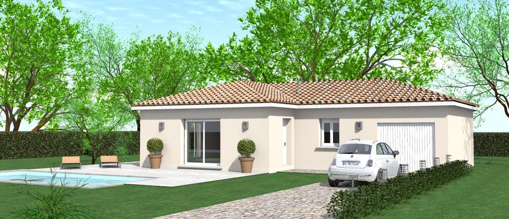 Maisons du constructeur HOME GROUP CONSEILS • 80 m² • VEYSSILIEU