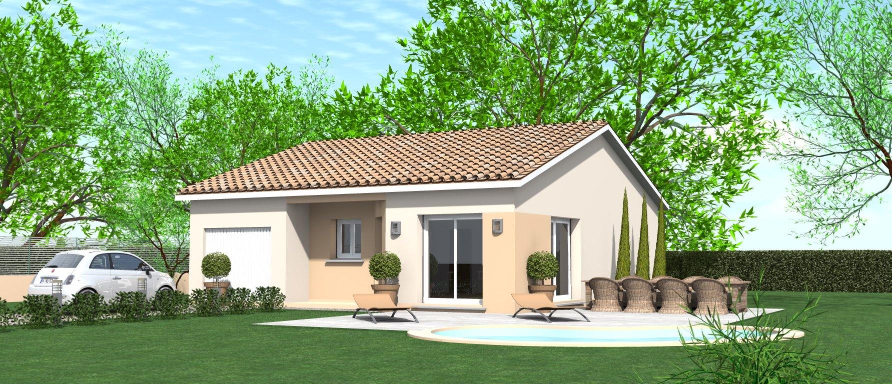 Maisons du constructeur HOME GROUP CONSEILS • 80 m² • COLOMBE