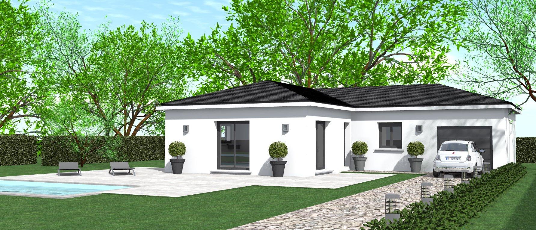 Maisons du constructeur HOME GROUP CONSEILS • 80 m² • LE PEAGE DE ROUSSILLON