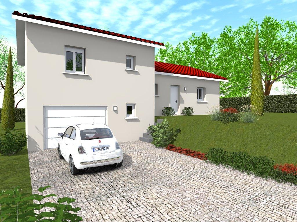 Maisons du constructeur HOME GROUP CONSEILS • 90 m² • ANDANCE