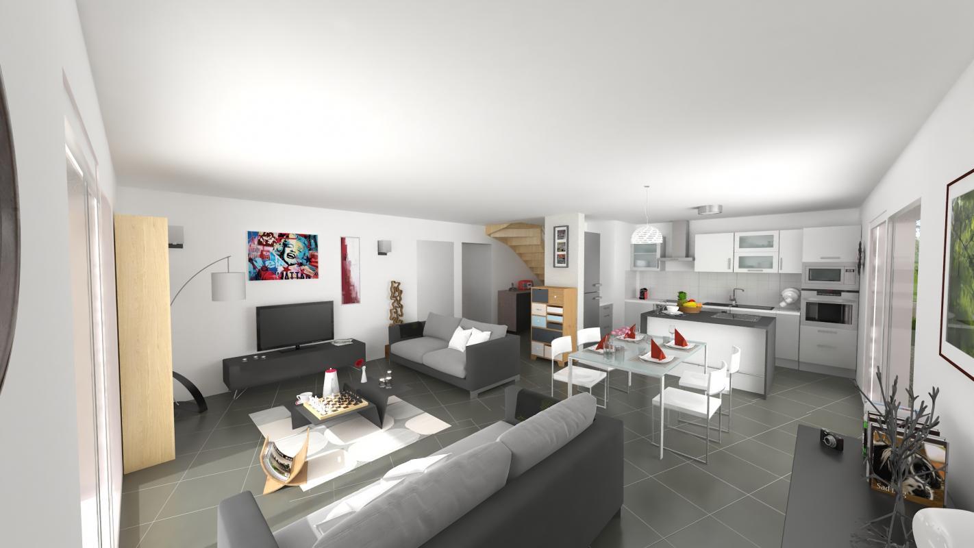 Maisons + Terrains du constructeur MAISONS ALAIN METRAL • 110 m² • SAINT FELIX