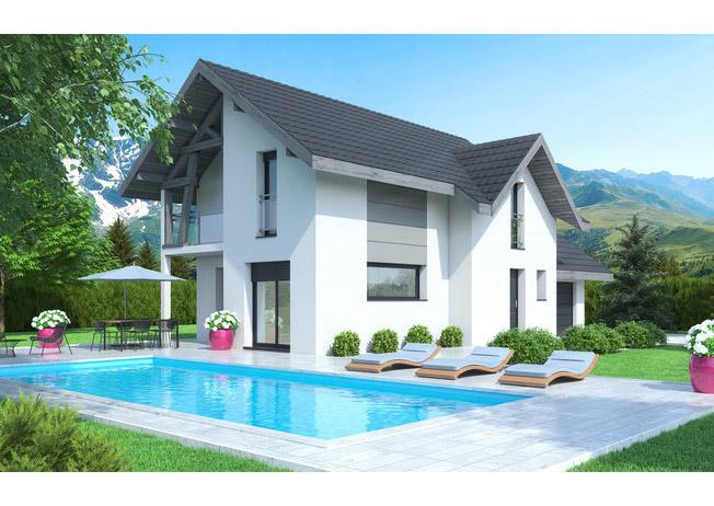 Maisons + Terrains du constructeur MAISONS ALAIN METRAL • 130 m² • SALLANCHES