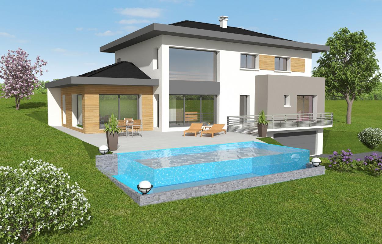 Maisons + Terrains du constructeur MAISONS ALAIN METRAL • 140 m² • LUCINGES