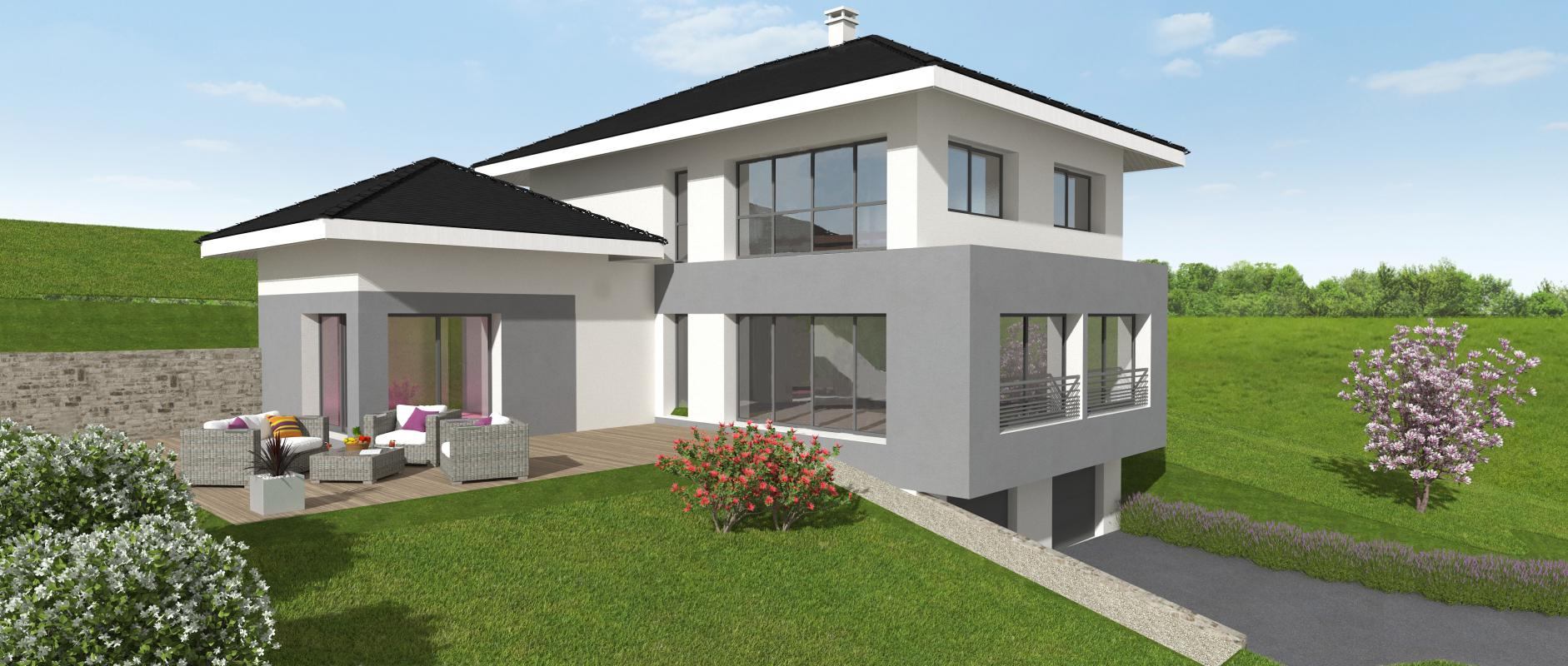 Maisons + Terrains du constructeur MAISONS ALAIN METRAL • 140 m² • THYEZ