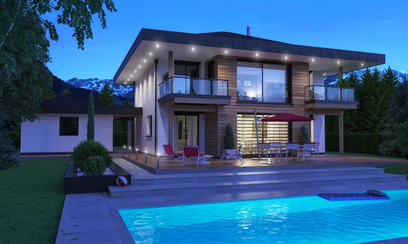 Maisons + Terrains du constructeur MAISONS ALAIN METRAL • 160 m² • SALLANCHES