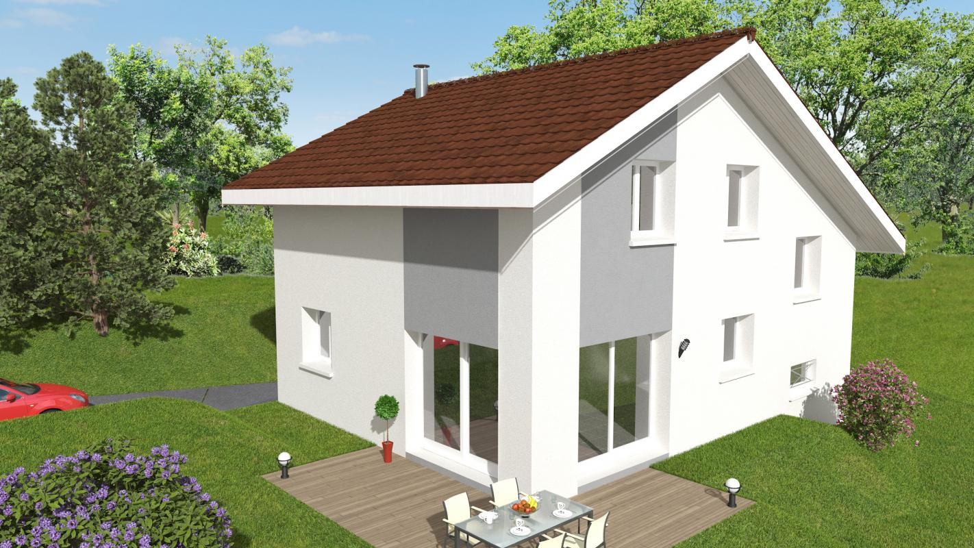 Maisons + Terrains du constructeur MAISONS ALAIN METRAL • 100 m² • VALLEIRY