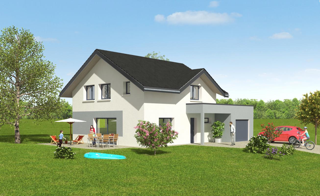 Maisons + Terrains du constructeur MAISONS ALAIN METRAL • 140 m² • MENTHONNEX EN BORNES