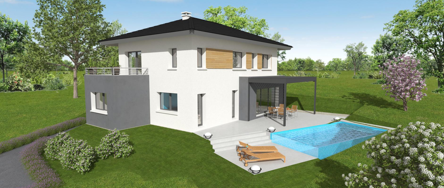 Maisons + Terrains du constructeur MAISONS ALAIN METRAL • 120 m² • MAXILLY SUR LEMAN