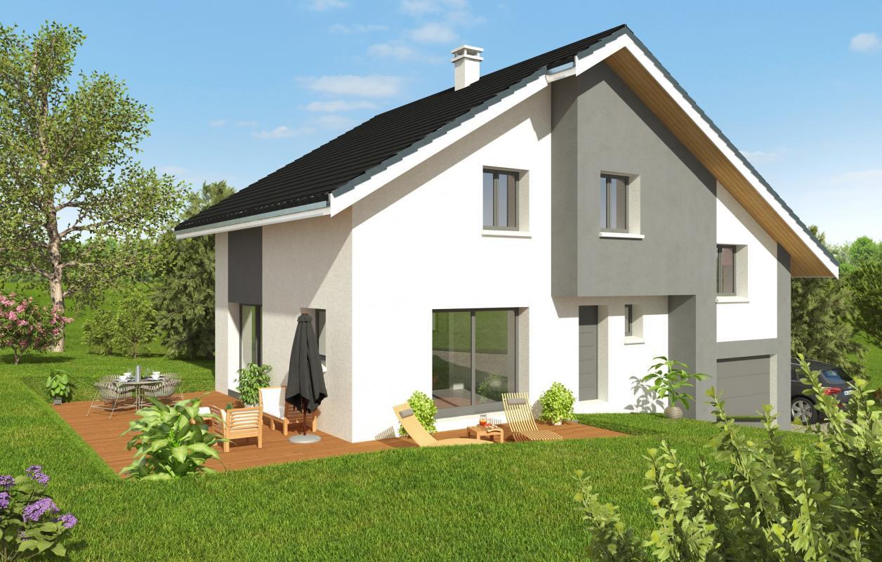 Maisons + Terrains du constructeur MAISONS ALAIN METRAL • 120 m² • PERS JUSSY