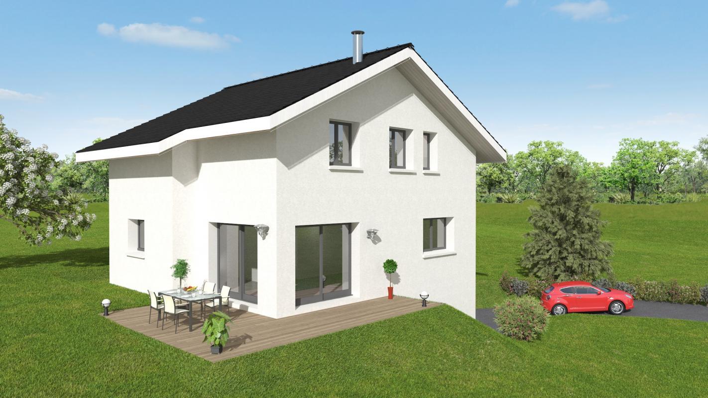 Maisons + Terrains du constructeur MAISONS ALAIN METRAL • 110 m² • SAINT PIERRE EN FAUCIGNY
