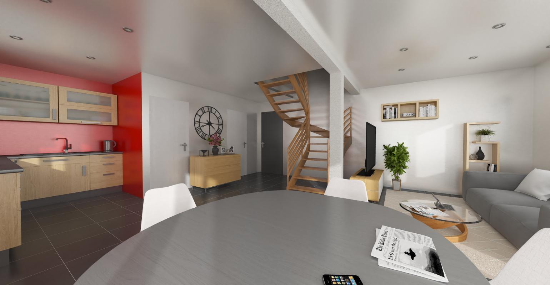 Maisons + Terrains du constructeur MAISONS ALAIN METRAL • 100 m² • ARENTHON