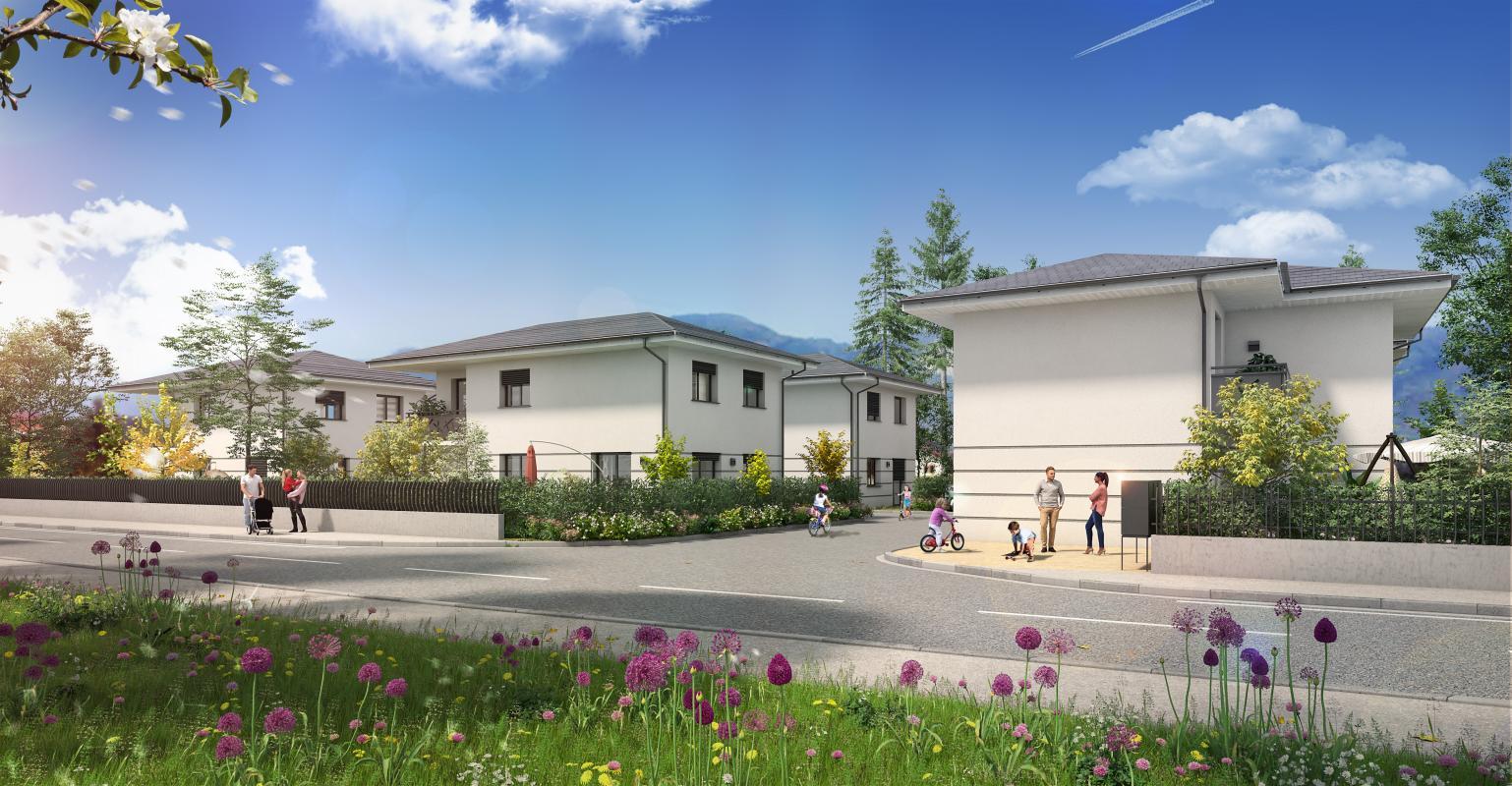 Maisons + Terrains du constructeur MAISONS ALAIN METRAL • 100 m² • SAINT PIERRE EN FAUCIGNY