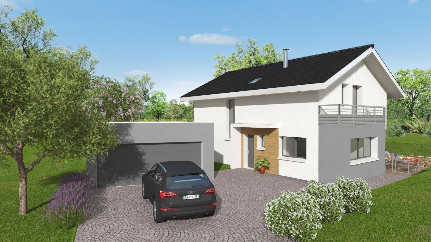 Maisons + Terrains du constructeur MAISONS ALAIN METRAL • 108 m² • SAINT PIERRE EN FAUCIGNY