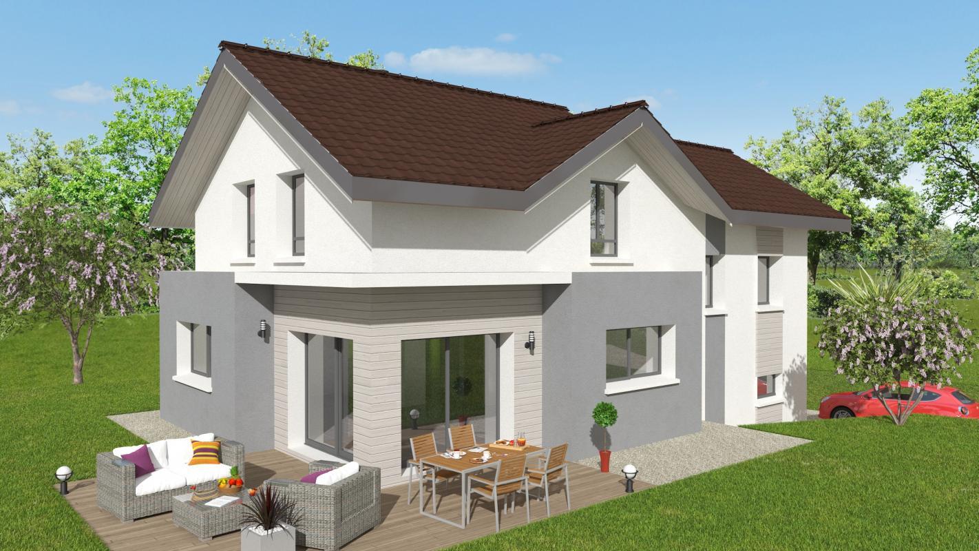 Maisons + Terrains du constructeur MAISONS ALAIN METRAL • 110 m² • LUCINGES