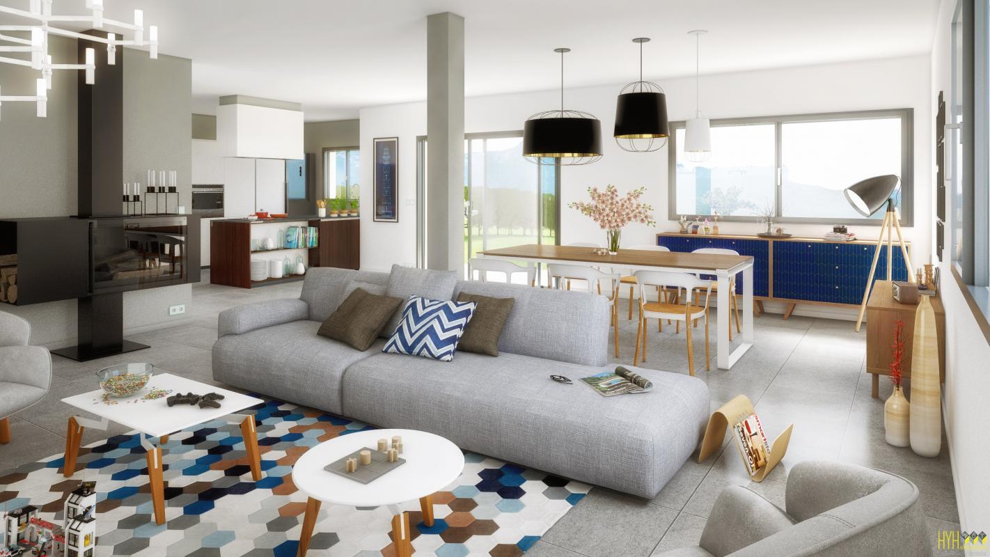 Maisons + Terrains du constructeur MAISONS ALAIN METRAL • 105 m² • MARIN