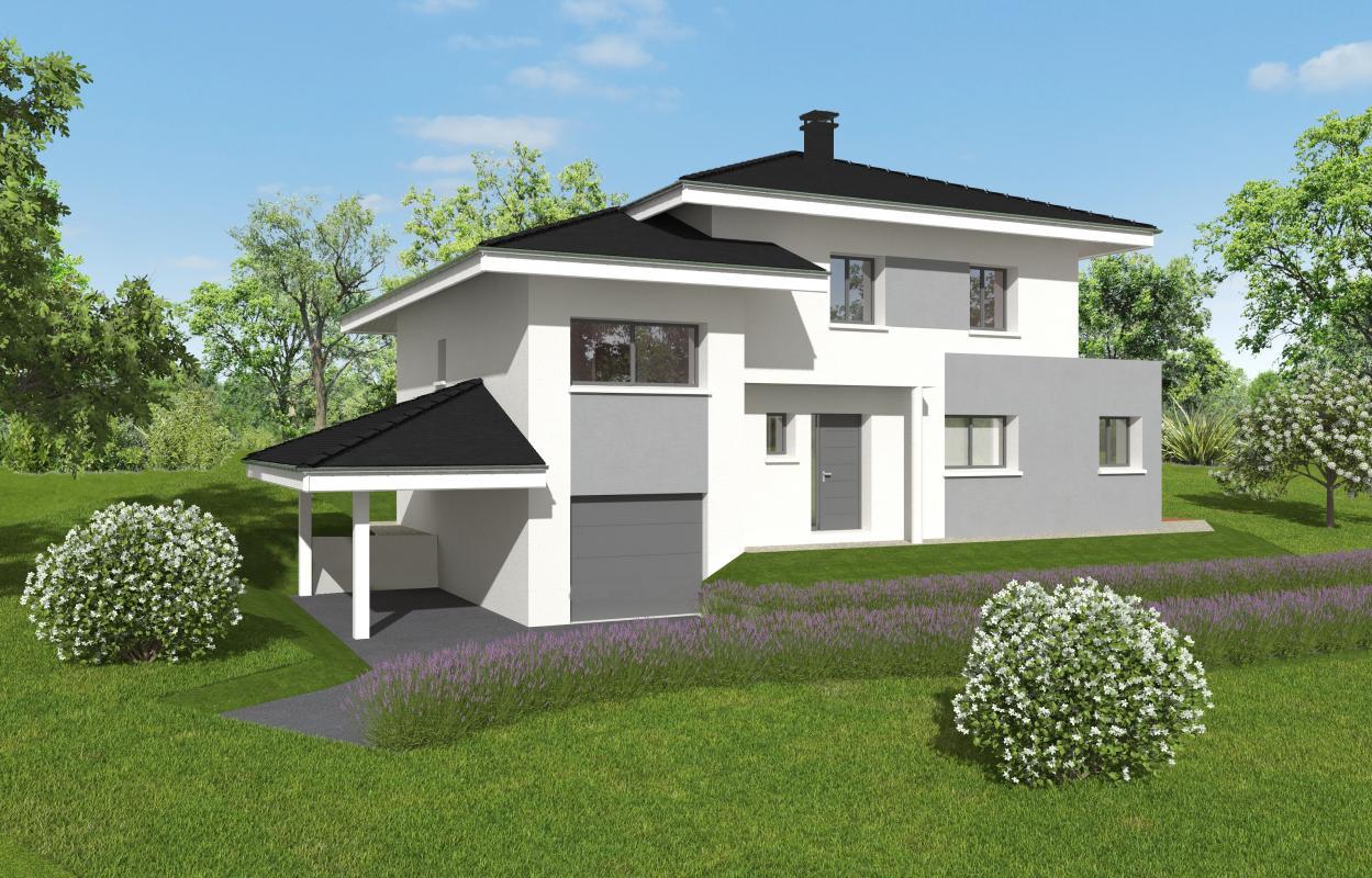 Maisons + Terrains du constructeur MAISONS ALAIN METRAL • 130 m² • VALLEIRY