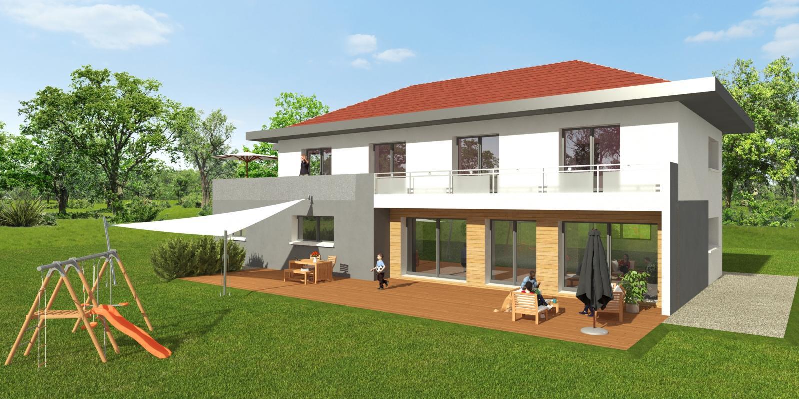 Maisons + Terrains du constructeur MAISONS ALAIN METRAL • 150 m² • VETRAZ MONTHOUX