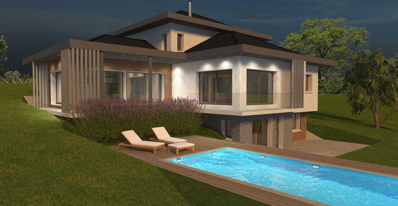 Maisons + Terrains du constructeur MAISONS ALAIN METRAL • 170 m² • BOSSEY