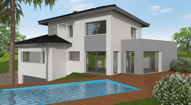 Maisons + Terrains du constructeur MAISONS ALAIN METRAL • 140 m² • COLLONGES SOUS SALEVE