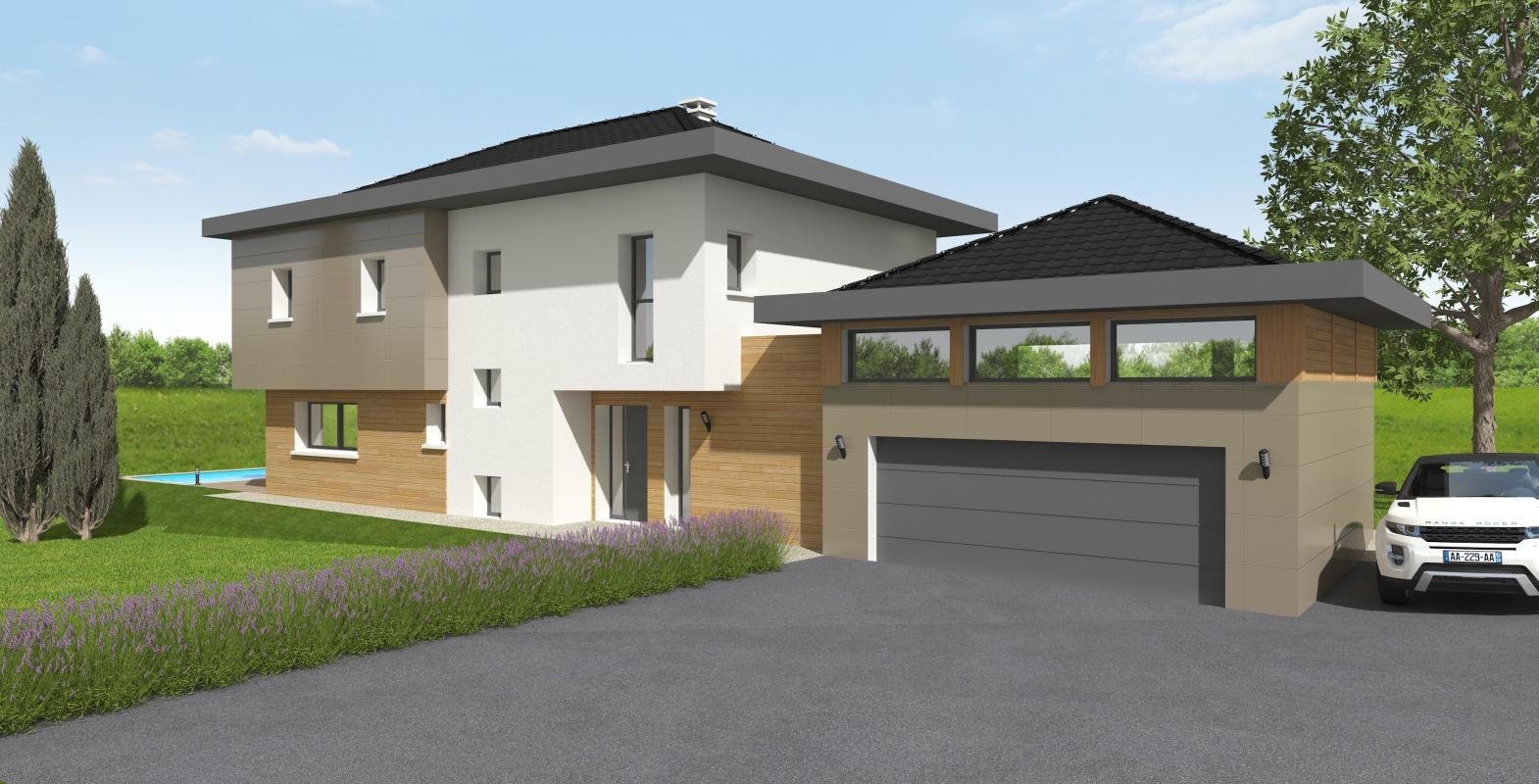 Maisons + Terrains du constructeur MAISONS ALAIN METRAL • 170 m² • COLLONGES SOUS SALEVE