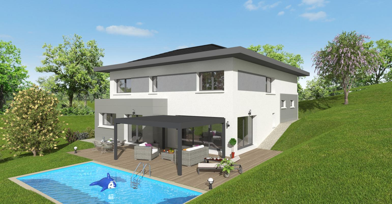 Maisons + Terrains du constructeur MAISONS ALAIN METRAL • 150 m² • COLLONGES SOUS SALEVE