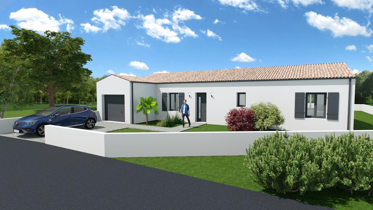 Maisons + Terrains du constructeur MAISONS ARLOGIS ROCHEFORT • 101 m² • TONNAY CHARENTE